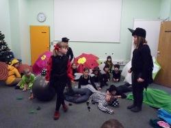 Pikapoka noče v šolo - igrica osnovnošolcev
